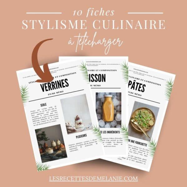 10 fiches sur le stylisme culinaire