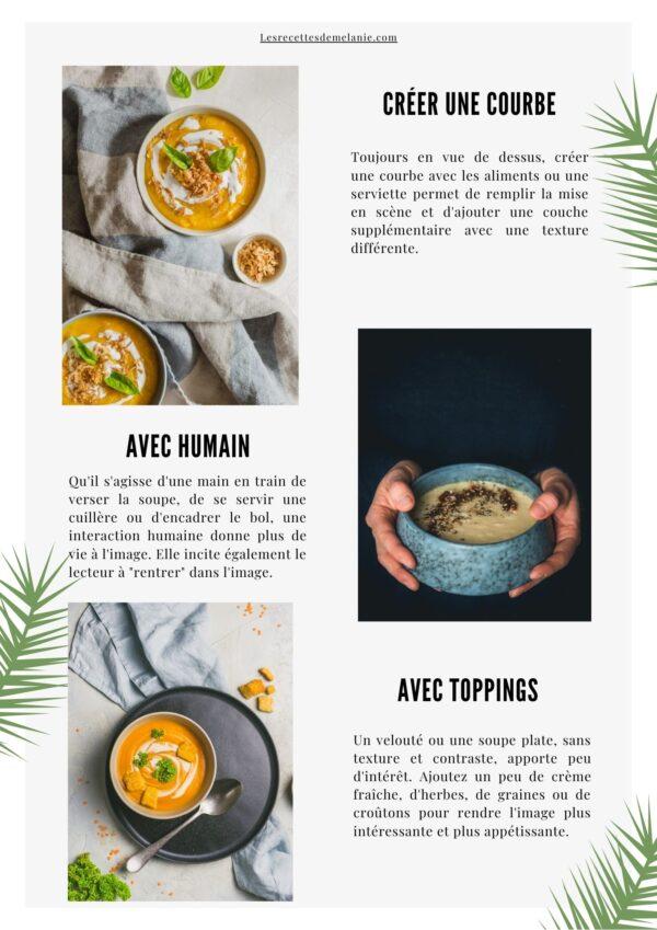 Fiches de stylisme culinaire