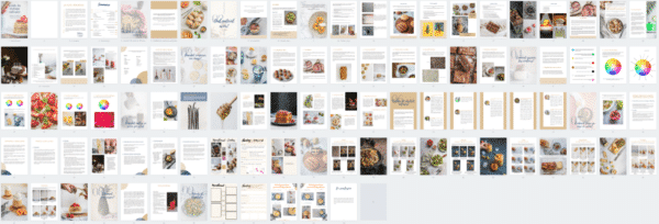 Contenu du guide sur le stylisme culinaire