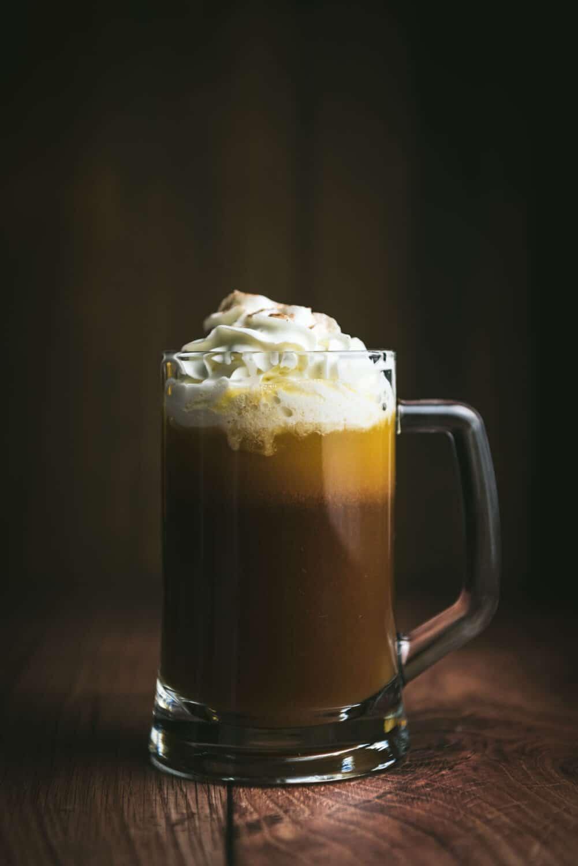 Bière au beurre avec ou sans alcool - Recette Halloween