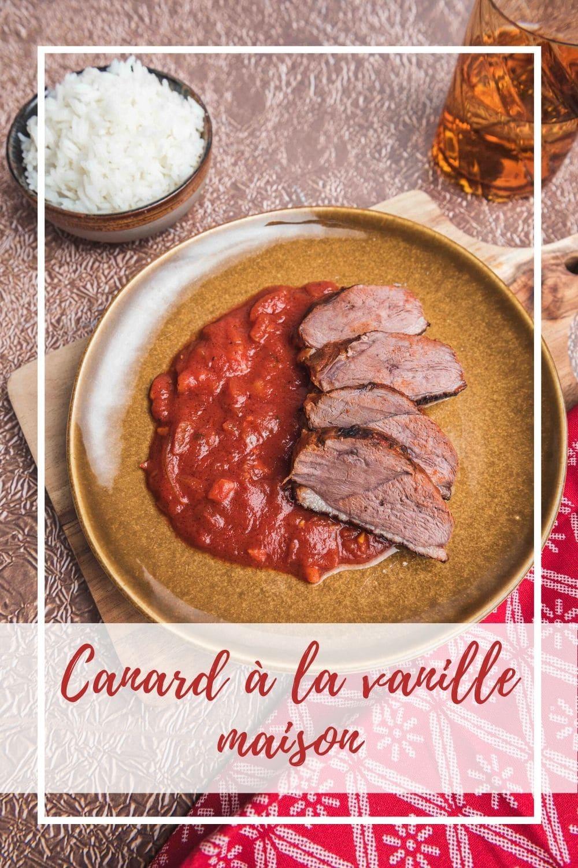 Pour les fêtes, faites voyager vos convives avec ce canard à la vanille inspiré d'une recette réunionnaise.