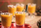 Une mise en bouche simple et savoureuse pour les fêtes: un velouté de courge butternut aux épices et foie gras