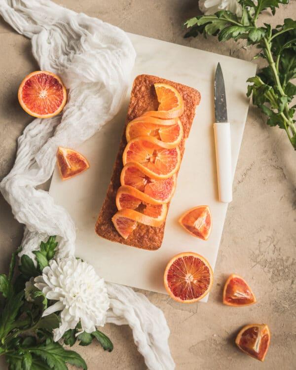 Preset cake orange lumineux - Photo culinaire - Les recettes de Mélanie