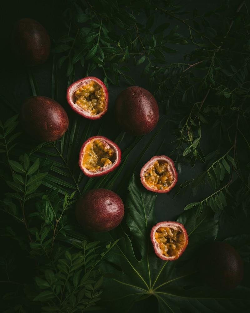 Les fruits de la passion sont si photogéniques.
