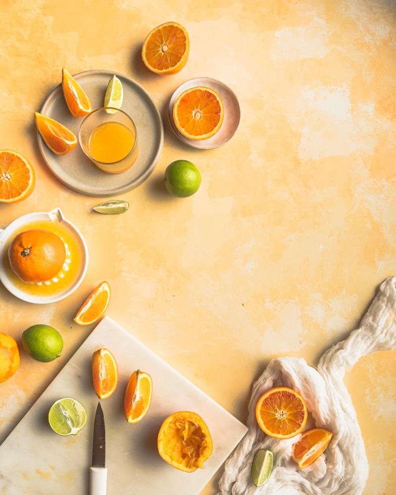 Un défilé d'agrumes pour faire le plein de vitamine C en hiver.