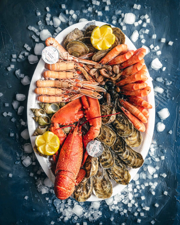 Un plateau de fruits de mer pour la  Saint-Valentin