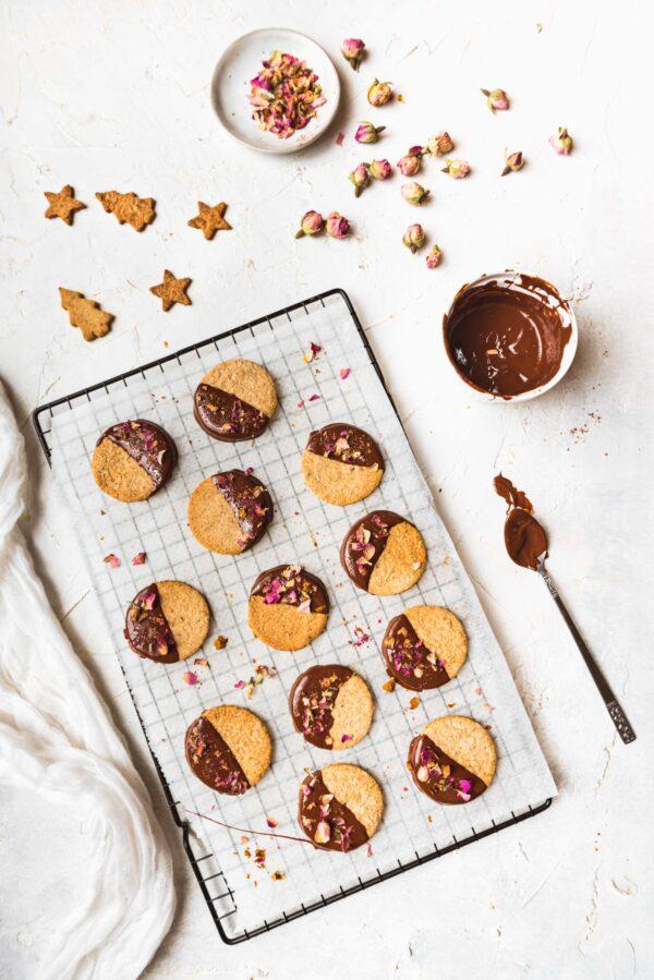 Preset sablés sur fond clair - Photo culinaire - Les recettes de Mélanie
