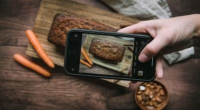 Formation photo culinaire au smartphone. Apprenez à faire de belles photos culinaires avec un smartphone.