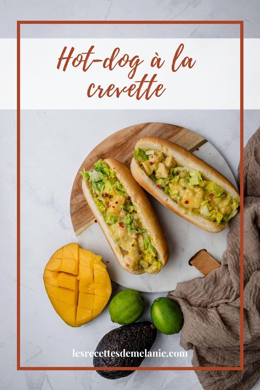 Une recette qui change du traditionnel hot-dog. Très rapide à faire, ce hot-dog à la crevette, mangue et avocat séduira tous ceux ayant des envies d'exotisme.